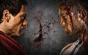 Картинка фильм, война, кровь, история, Spartacus, спартак, сереал, Spartacus-war of the damned, Красс