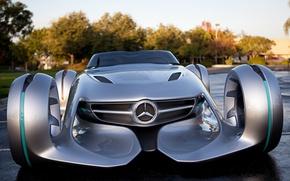 Картинка концепт, Mercedes, автомобиль, Silver Arrow