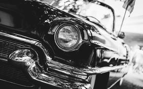 Обои классика, передок, Cadillac, Series 62