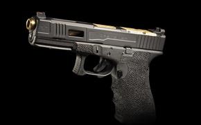 Картинка пистолет, фон, Vorsteiner, G17, FIX