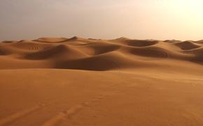 Обои дюны, пустыня, Песок
