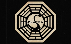 Обои знак, Lost, Dharma Initiative