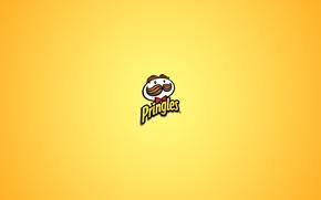 Обои стиль, минимализм, лого, logo, minimalism, style, бренд, brand, 2560x1600, чипсы, pringles, chips