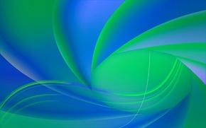 Обои линии, цвет, спираль, объем