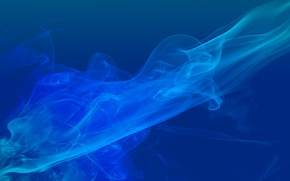 Обои цвет, синий, smoke, color abstract