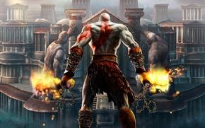 Картинка игры, кратос, god of war