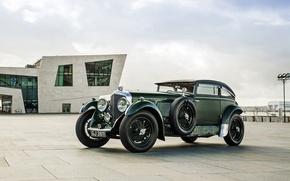Картинка купе, Bentley, Coupe, бентли, 1930, Speed 6