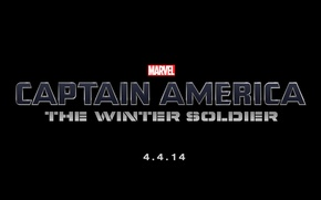 Картинка Logo, Marvel, Movie, Letters, Captain America: The Winter Soldier