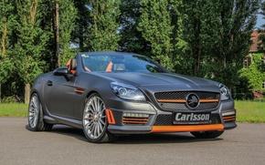 Обои 2015, CSK 55, мерседес, Carlsson, R172, Mercedes