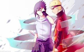 Картинка Аниме, Арт, Наруто, Naruto, Naruto Uzumaki, Susanoo, сусаноо, Sasuke uchiha
