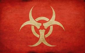 Картинка знак, такстура, biohazard