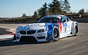 Картинка BMW, Race, Front, GT3, Day, DTM, Track