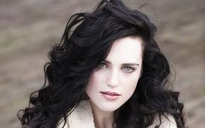 Картинка девушка, лицо, волосы, актриса, Katie McGrath