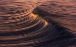 Обои море, воды, волна, текстура, перелив