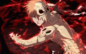 Картинка аниме, маски, Bleach, блич, Hollow Ichigo, фильм 4