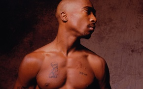 Картинка Тату, Rap, 2Pac, Тупак, Рэппер, Реппер, Tupac