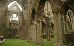 Картинка Англия, церковь, Британия, руины