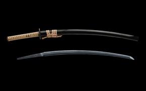 Обои япония, меч, катана, самурай