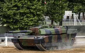 Картинка современный, танк, боевой, французский, основной, Леклерк