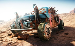 Картинка машина, пустыня, Mad Max, Fury Road, Безумный Макс, Дорога ярости