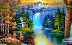Картинка wallpaper, painting, place