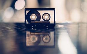 Картинка музыка, фон, кассета, BASF