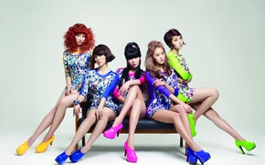Картинка музыка, девушки, азиатки, Южная Корея, Kpop, 4Minute