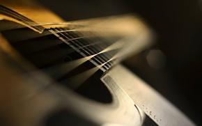 Картинка макро, музыка, гитары