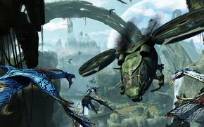Картинка avatar, flies, ikraan