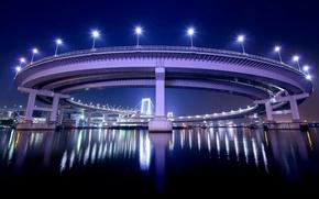 Картинка огни, Япония, Токио