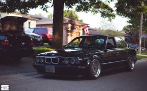 Картинка BMW, E34, BBS