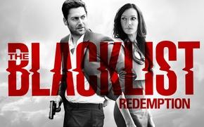 Картинка Famke Janssen, NBC, TV show, Ryan Eggold, The Blacklist Redemption