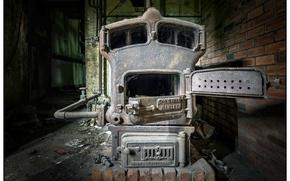 Картинка фон, печь, Boiler room