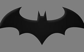 Картинка Batman, symbol, Arkham