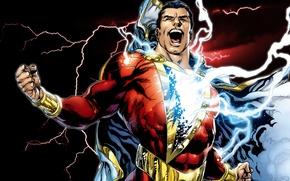 Картинка comics, Captain Marvel, shazam
