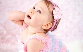 Картинка ребенок, платье, малышка, child, baby, kid, маленькая девочка, Glance, Little girls