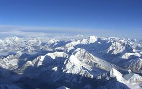 Обои Небо, Снег, Горы