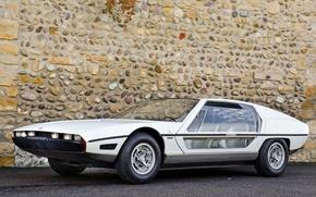 Картинка Lamborghini, Car, White, Supercar, Exotic, Glass Door, Lamborghini Silhoutte 1976