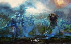 Обои ведьмак 2, the witcher 2, убийцы королей, арт, assassins of kings