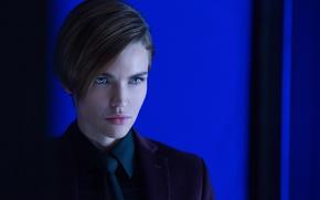 Обои John Wick, wallpaper, Ruby Rose, assassin, subarashii, 4k, short hair, tie, suit, pretty face, beautiful, ...