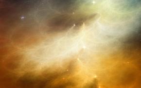 Картинка пустота, космос, Пыль