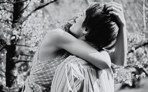 Обои нежность, отношения, парень, теплота, парни, пары, поцелуи, девушка, фото, настроения, любовь, пара, дружба, встреча, девушки, ...
