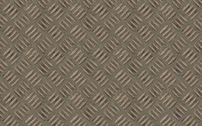Обои лист, поверхность, рельеф, фон, линии, рифление, текстура, металл, перфорация