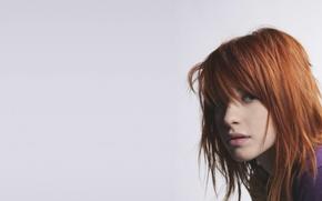 Обои девушка, музыка, music, певица, рыжая, girl, paramore, hayley williams, фотосет, хейли уильямс, pop-rock, поп-рок