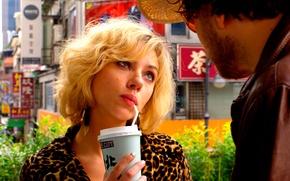 Картинка Scarlett Johansson, Lucy, Luc Besson