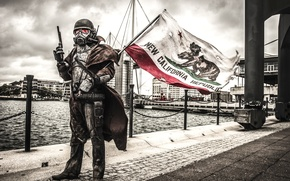 Картинка город, ситуация, флаг, Convention