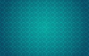 Обои круги, бирюзовый, текстура