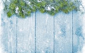 Картинка зима, снег, снежинки, елка, Новый Год, Рождество, Christmas, winter, snow, decoration, Merry