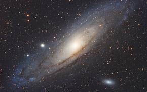 Обои M 31, Галактика, NGC 224, Андромеды
