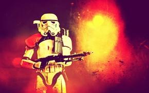 Обои BlasTech E-11, Star Wars, Stormtrooper